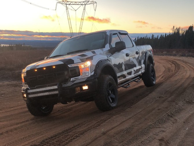 2018 Ford F150 4wd SuperCrew Toyo Open Country R/T 33/12.50R18 (3605)