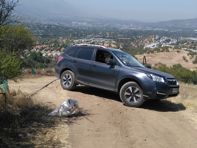 2017 Subaru Forester 2.5i Cooper Discoverer AT3 4S 235/65R17 (4055)
