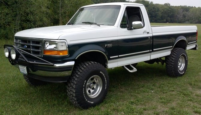 Forrest411 S 1994 Ford F150 4wd Pick Up