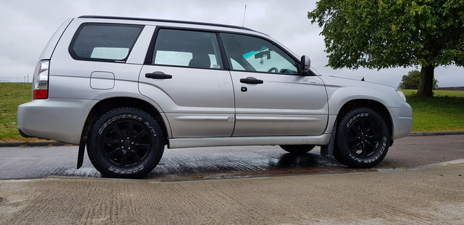 2007 Subaru  Forester 2.0 XC Cooper Discoverer AT3 215/70R16 (4434)