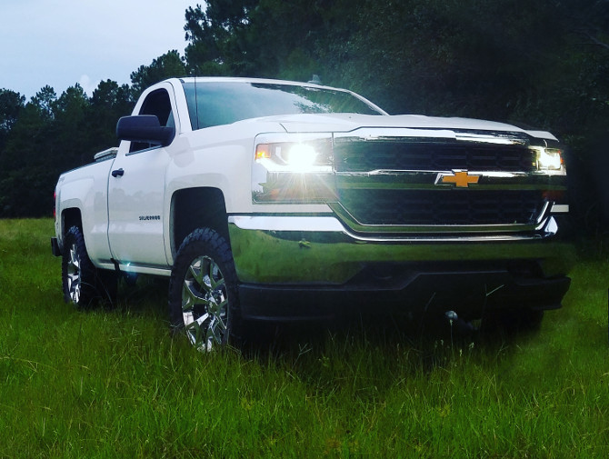 31x10 50r15 Tires >> G-money's 2016 Chevrolet Silverado 1500 4wd Regular Cab