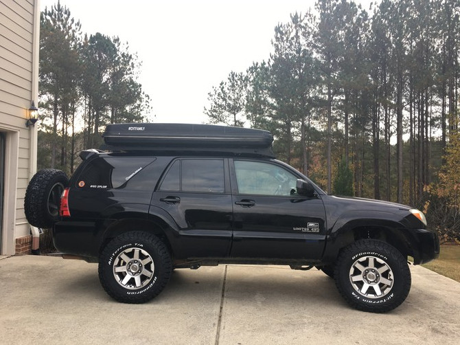 Tire Size Comparison Side By Side >> GOXPLOR4x4's 2008 Toyota 4Runner 4wd Limited