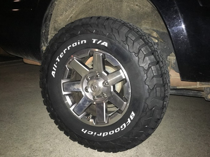 Tire Size Comparison >> GOXPLOR4x4's 2008 Toyota 4Runner 4wd Limited