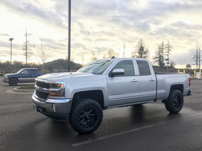 German S 2016 Chevrolet Silverado 1500 4wd Double Cab
