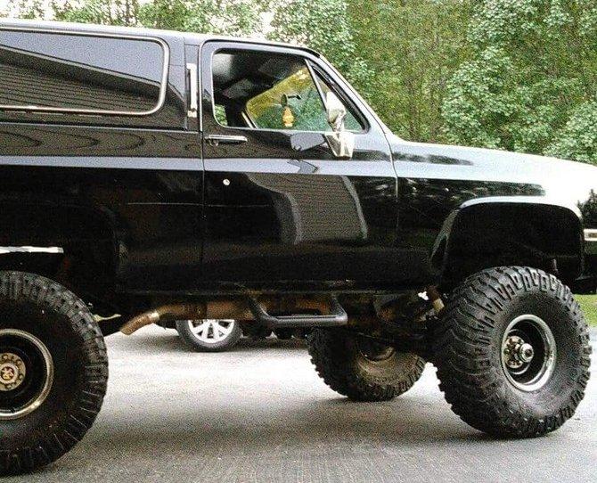 Tire Size Comparison >> Jakethesnake's 1986 Chevrolet K10 4wd Pick-up