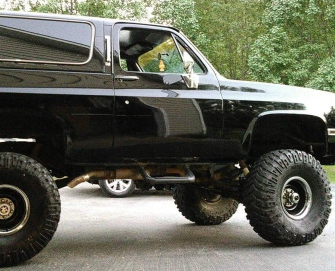 Tire Size Comparison Calculator >> Jakethesnake's 1986 Chevrolet K10 4wd Pick-up