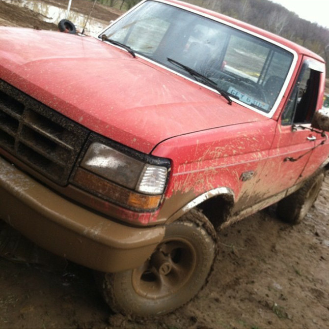 Jay's 1992 Ford F150 4wd Pick-up