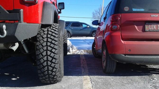 Tire Hight Chart >> JeepJKU1's 2016 Jeep Wrangler Unlimited Sport