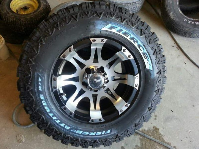 Tire Size Comparison Chart >> JohnChilsted's 2007 Dodge Ram 1500 QuadCab 4wd