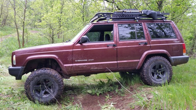 2015 Chevrolet Silverado 1500 Double Cab >> Josh_XJ's 2000 Jeep Cherokee Sport
