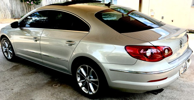 2009 Volkswagen CC Luxury BFGoodrich g-Force COMP-2 A/S 235/45R17 (2868)