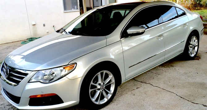 2009 Volkswagen CC Luxury BFGoodrich g-Force COMP-2 A/S 235/45R17 (2871)