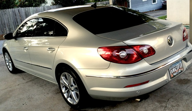 2009 Volkswagen CC Luxury BFGoodrich g-Force COMP-2 A/S 235/45R17 (2873)