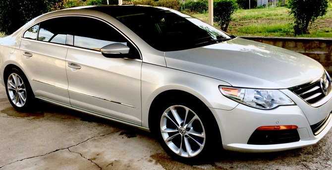 2009 Volkswagen CC Luxury BFGoodrich g-Force COMP-2 A/S 235/45R17 (2874)