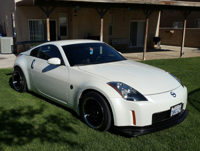 2005 Nissan 350Z Touring Coupe 26 778 235/45R17 (1092)
