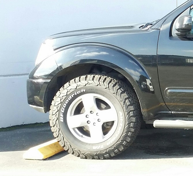 Tire Size Meaning >> Knight's 2008 Nissan Frontier Crew Cab LE
