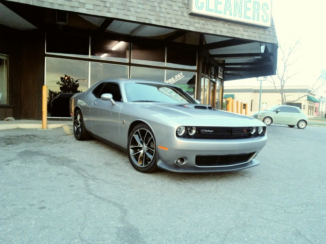 2016 Dodge Challenger 392 HEMI Scat Pack Shaker Goodyear Eagle F1 Supercar 245/45R20 (2701)