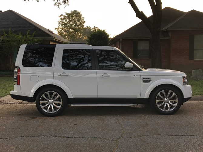 2016 Land Rover LR4 HSE LUX Nitto Terra Grappler G2 285/50R20 (3544)