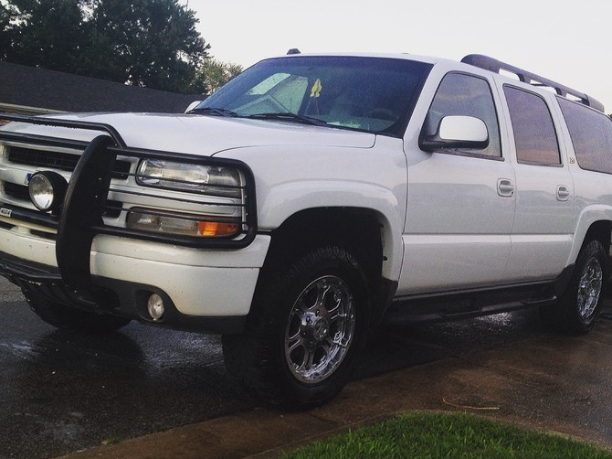 Tire Size Meaning >> Lane's 2003 Chevrolet Suburban 4Wd