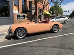 MG's 1957 MG A Ford 302 V8