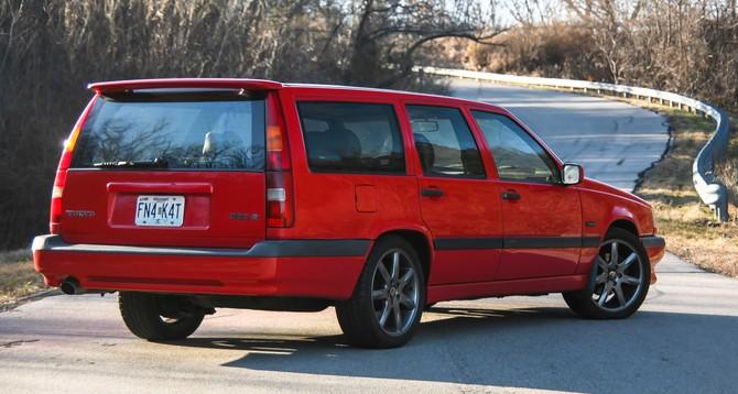 1996 Volvo 850 R Wagon Bfgoodrich G Force Sport Comp 2 215 45r17