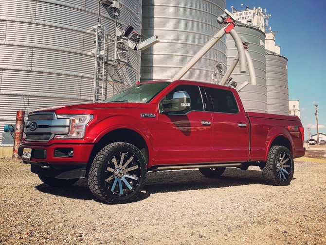 Tire Size Comparison Chart >> MaxTow's 2018 Ford F150 4wd Heavy-Duty SuperCrew