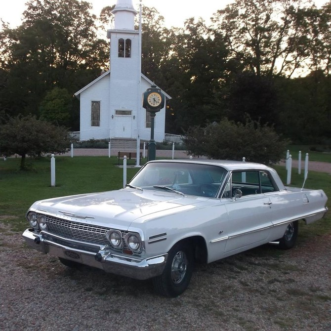 1963 Chevy Impala Fact Air Cooper Weather Master ST2 225/70R14 (1105)