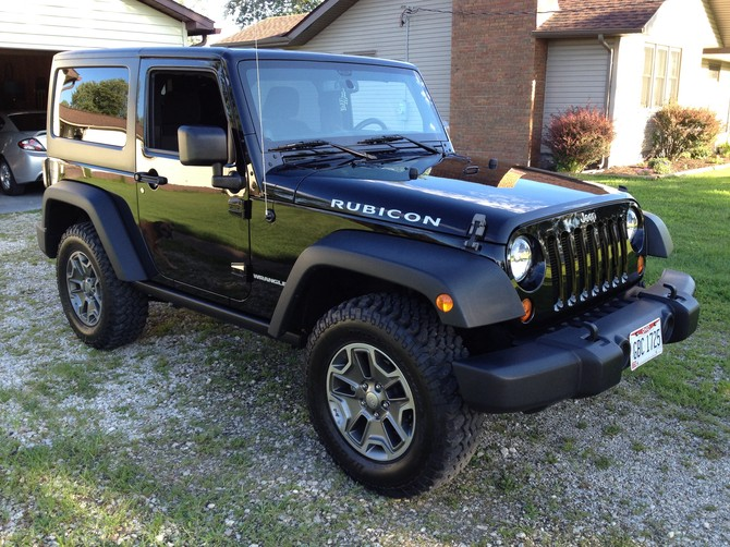 Tire Size Meaning >> MikeRunyon's 2013 Jeep Wrangler Rubicon