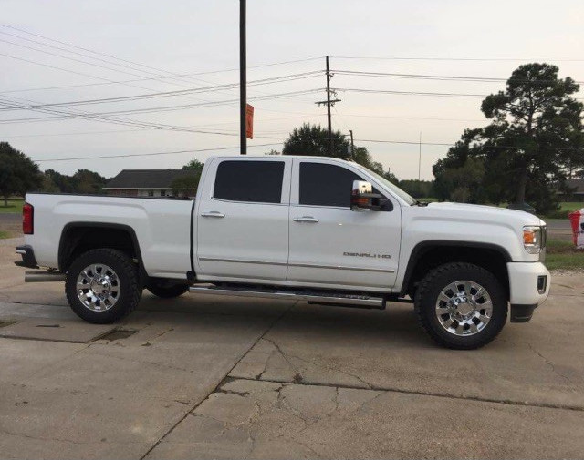 2016 GMC Sierra 2500 HD 4wd Crew Cab Cooper Discoverer ST MAXX 275/65R20 (1984)