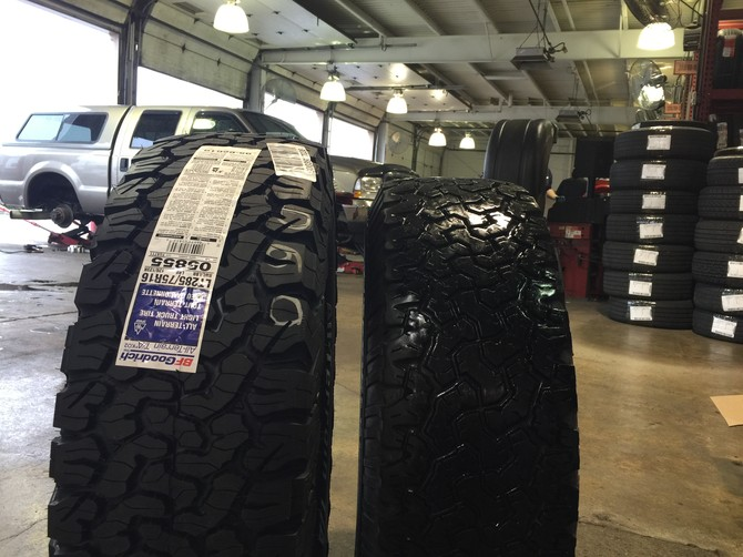 Tire Hight Chart >> Mongo's 2003 Ford F250 Super Crew 2wd