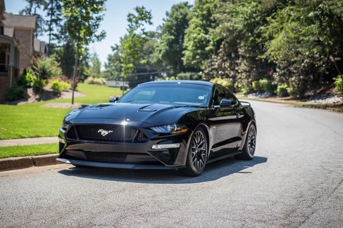 2018 Ford Mustang Convertible GT Performance Pkg Michelin Pilot Sport 4S 275/35R19 (4317)