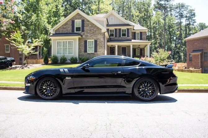2018 Ford Mustang Convertible GT Performance Pkg Michelin Pilot Sport 4S 275/35R19 (4318)