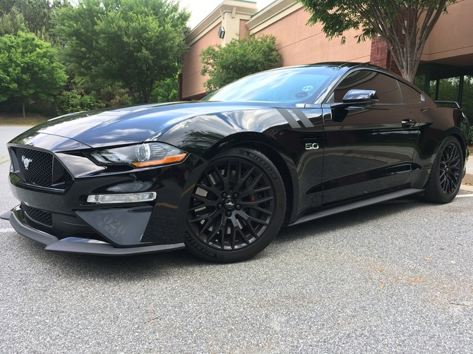 2018 Ford Mustang Convertible GT Performance Pkg Michelin Pilot Sport 4S 275/35R19 (4330)