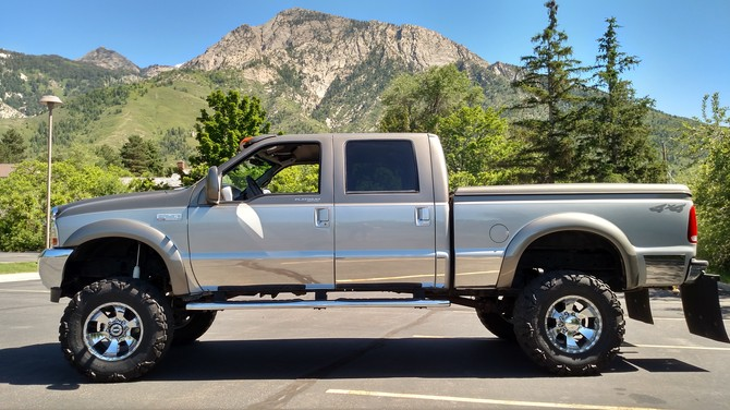 PokerUpFront's 2001 Ford F250 4wd Super Duty