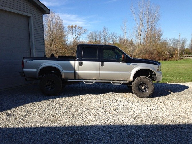 2005 Ford F250 Super Crew 4wd Dick Cepek Fun Country 37/13.50R17 (362)