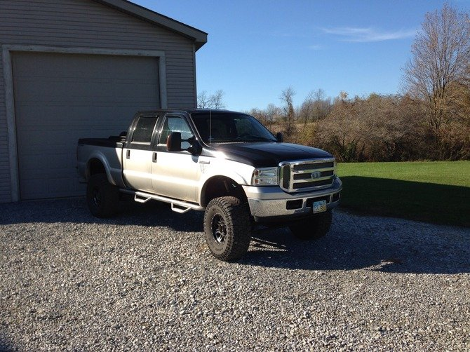preston 39 s 2005 ford f250 super crew 4wd. Black Bedroom Furniture Sets. Home Design Ideas