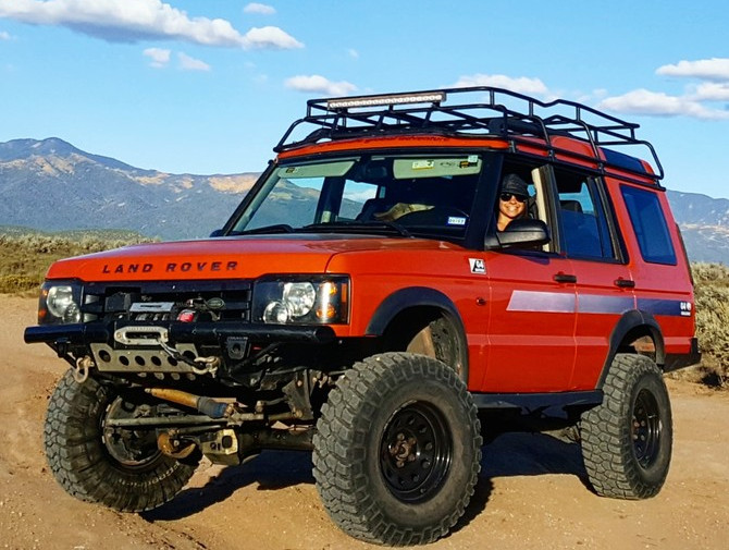 Pumpkin S 2004 Land Rover Discovery 4 6 Hse