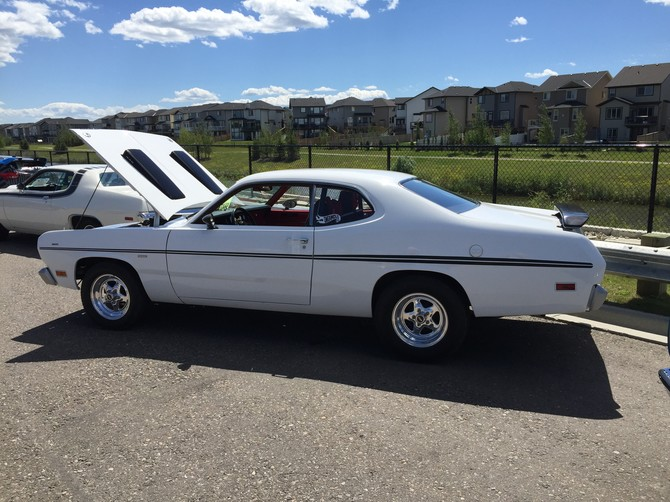 1970 Plymouth Duster 440 BFGoodrich Radial T/A 275/60R15 (5575)