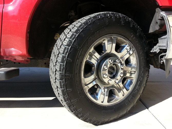 Tire Size Comparison Chart >> RazorsEdge's 2012 Ford F350 Lariat Crew Cab 4X4