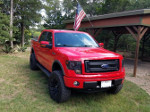 RedNeck's 2014 Ford F150 4wd SuperCrew