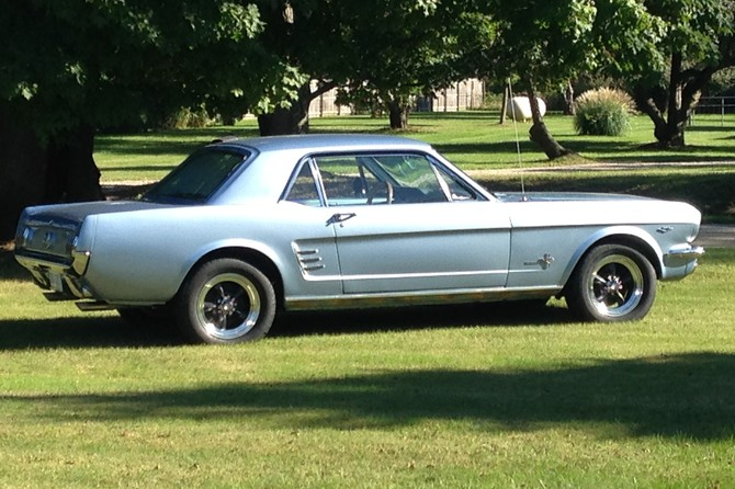Tire Size Comparison >> Rick's 1966 Ford Mustang 5-Lug
