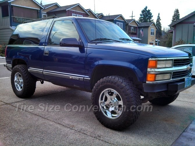 1996 Chevrolet Tahoe 4wd 2dr Toyo Open Country M/T 295/70R17 (21)