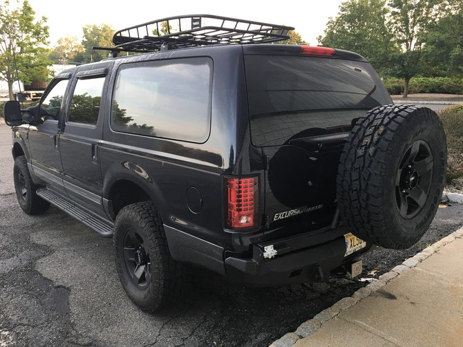 2001 Ford Excursion 4Wd Toyo Open Country A/T II 35/12.50R17 (2755)