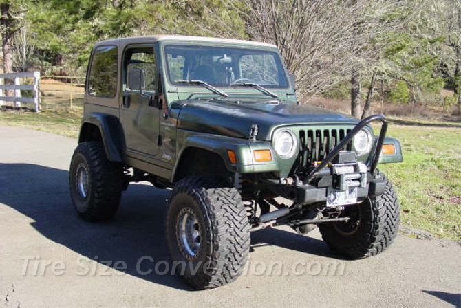 1998 Jeep Wrangler Sahara Toyo Open Country M/T 35/13.50R15 (1)