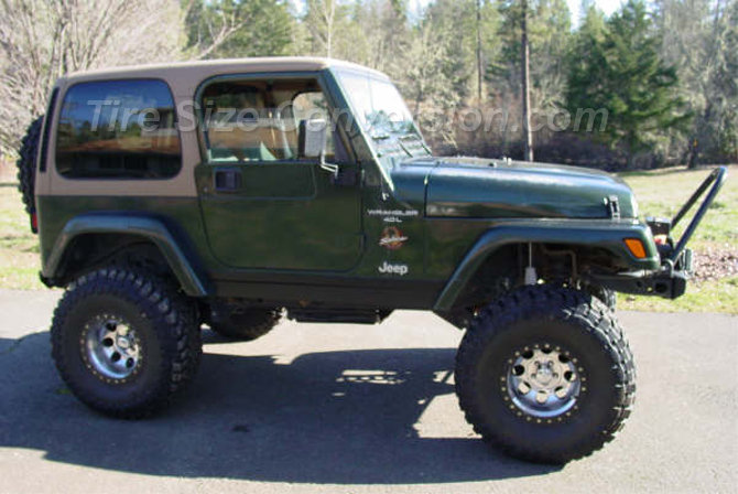 1998 Jeep Wrangler Sahara Toyo Open Country M/T 35/13.50R15 (2)