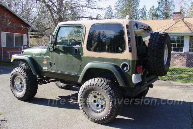1998 Jeep Wrangler Sahara Toyo Open Country M/T 35/13.50R15 (3)