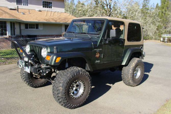 1998 Jeep Wrangler Sahara Toyo Open Country M/T 35/13.50R15 (4)