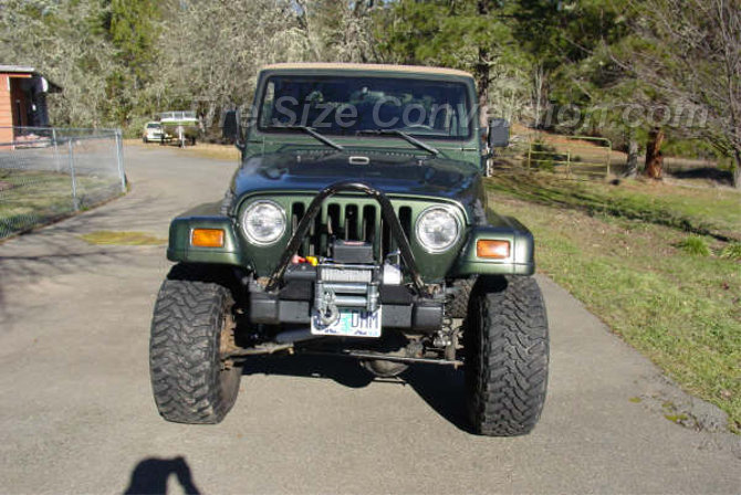 1998 Jeep Wrangler Sahara Toyo Open Country M/T 35/13.50R15 (5)