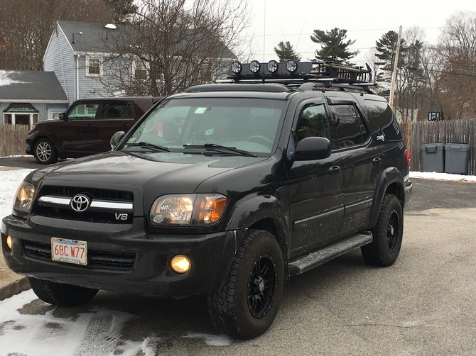 Tire Size Meaning >> Sequoia's 2005 Toyota Sequoia SR5 4wd