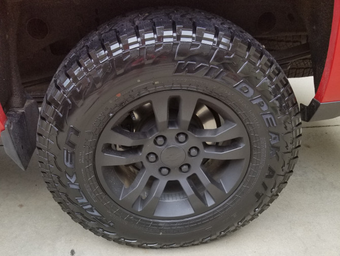 Tire Height Chart >> Silverado125's 2014 Chevrolet Silverado 1500 2wd Crew Cab